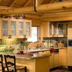 montana-log-home-kitchen-300x448