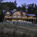 western-virginia-log-home-back-exterior