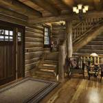 western-virginia-log-home-foyer