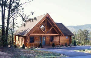 smoky-mountain-log-home-exterior