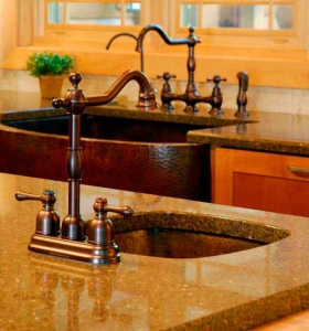 Alpine-copper-dual-sink