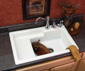 Built-in-prep-sink