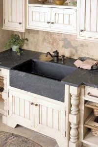 Soapstone-sink