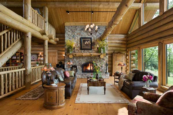 Breathtaking Chalet Interior Design