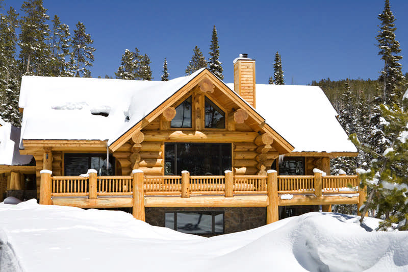 This custom home not only has views of Big Sky and Moonlight Basin ski areas, but homeowners Linda and Renny Lovold can ski right out of their front door.