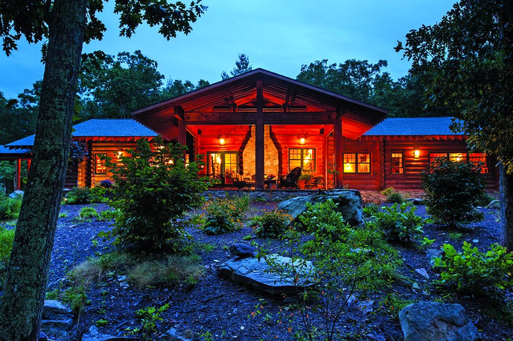 Your guide to log homes and log cabins for Www loghome com