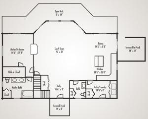 open layout