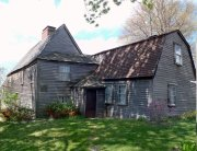 The Fairbanks House in Dedham, Massachusetts. Photo courtesy of Sojourning Boston.