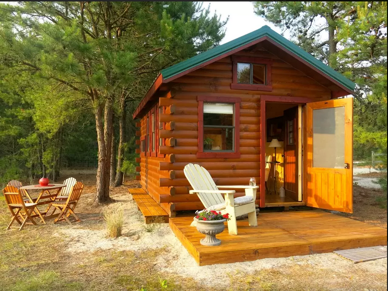 10 tiny log houses you can rent for Lake cabins for rent in massachusetts