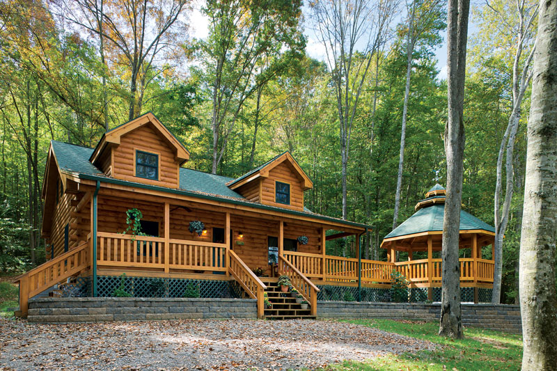 This Couple Built Their Dream Log Cabin In Under Six Months