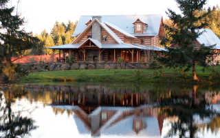 log home maintenance myths