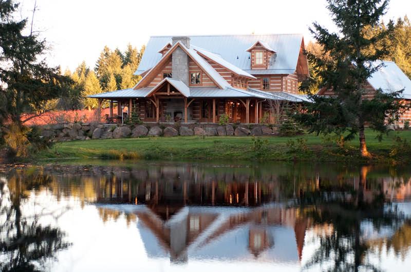 log home maintenance myths