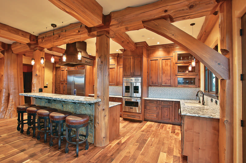 universal design ideas for log homes