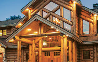 front-close-exterior---Wisconsin-Log-Homes-&-KCJ-Studios