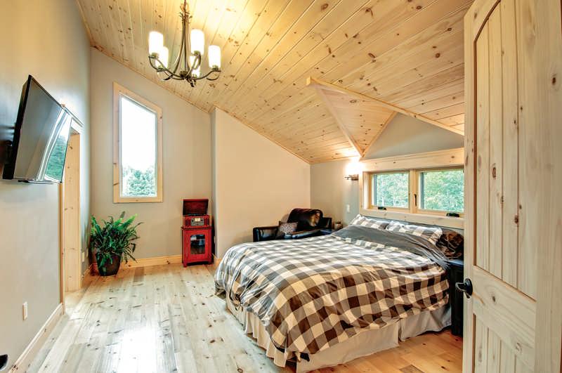 Energy Efficiency In A Modern Log Home