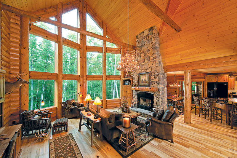 Guide To Designing The Perfect Log Home Staircase