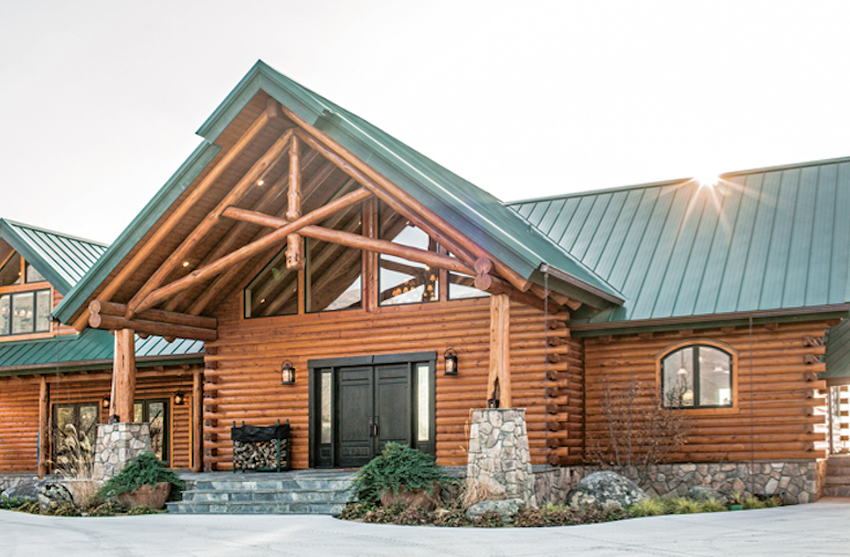 The American Dream: Building a Log Home