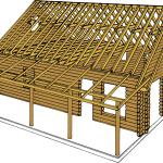 Walls, Roof & Upper Beam System