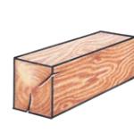 RECTANGULAR LOGS: Squared Edge