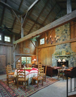 A Timber Frame Barn For The Ages In New York