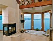 Bathroom-modern-Fireplace
