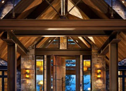 Waterfront Living In A Montana Timber Frame Home