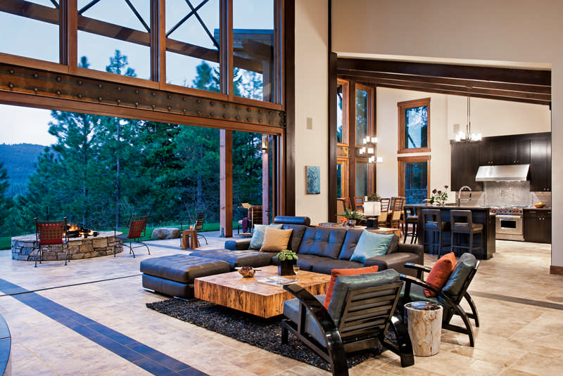 Northwest Modern Home Architecture a modern timber home in the pacific northwest