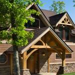 North Carolina Timber Home