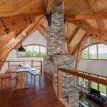 Vermont Timber Home Loft