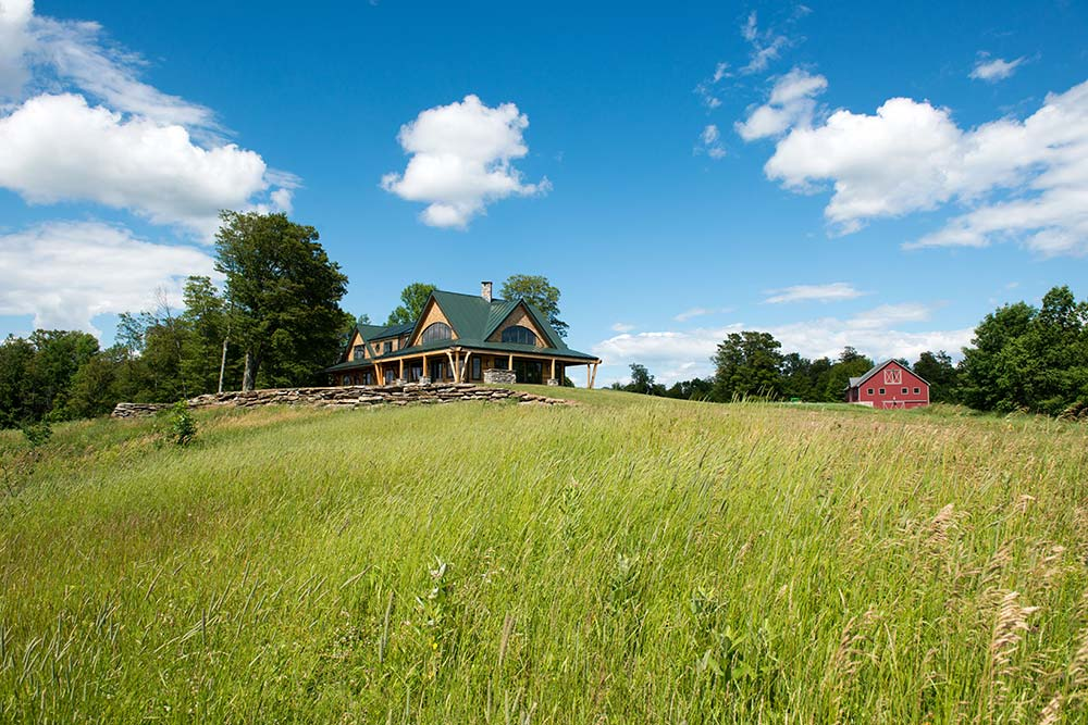 Vermont Timber Home