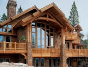 Consider things like climate, sun exposure, location and energy-efficiency needs before choosing windows for your timber home's wall of windows