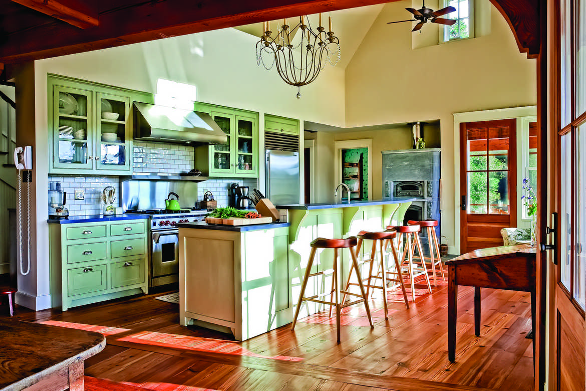 6 Timber Home Kitchens