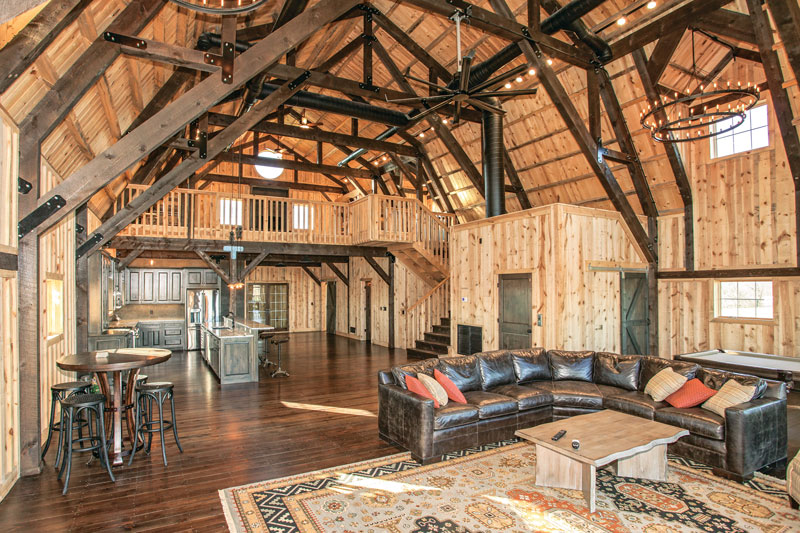 Midwest timber home on the plains Converted barn homes for sale in texas
