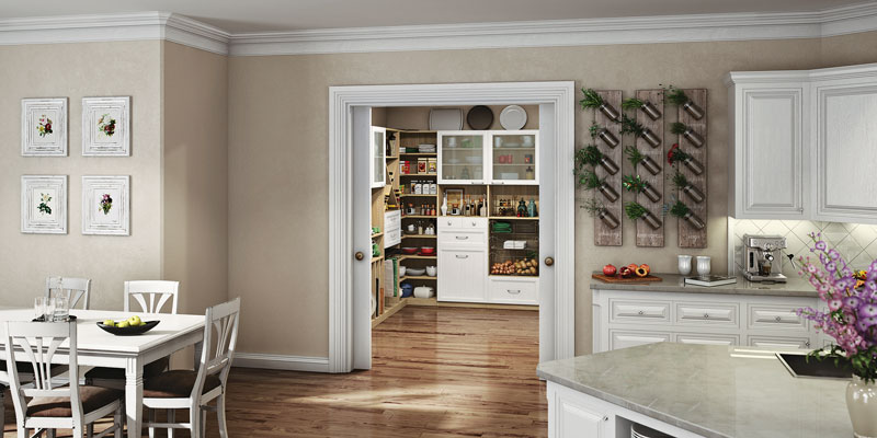 The perfect pantry for your timber home kitchen for Cost to build a pantry
