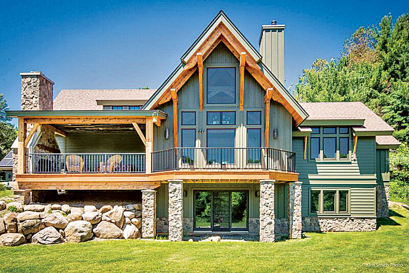 The Benefits to a Smaller Timber Home