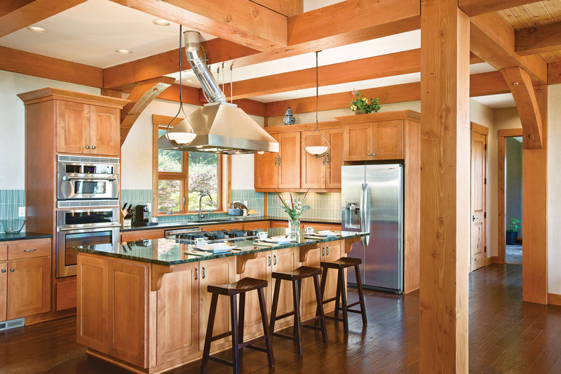 Timber Home Kitchen Design Tips Inspiration