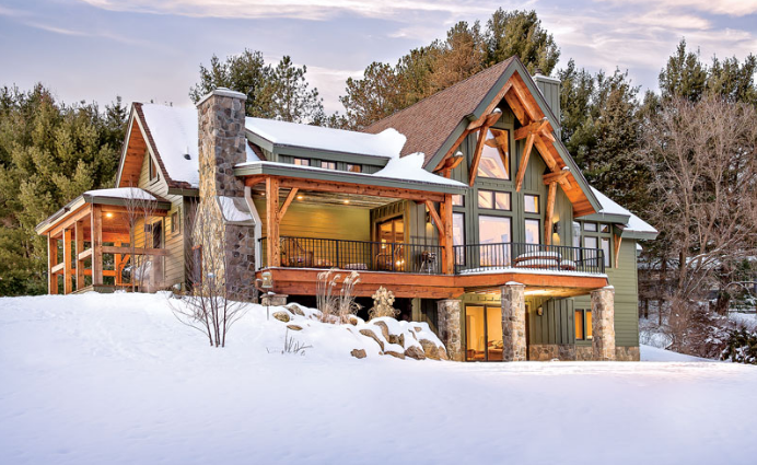 Dream Timber Retreat in New York State