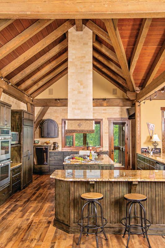 My New Kentucky Timber Home