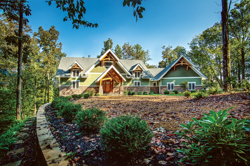 A Forever Timber Home in Tennessee