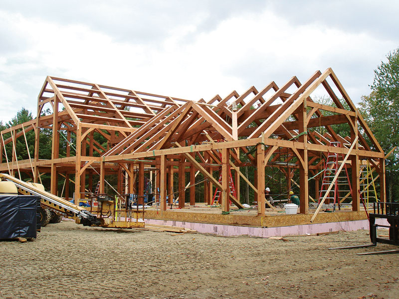 Timber framing 101 for House framing 101