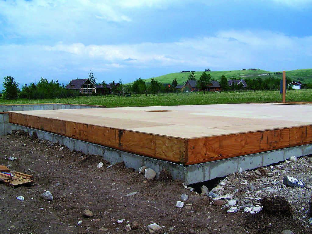 Underneath it all for Precast concrete home kits