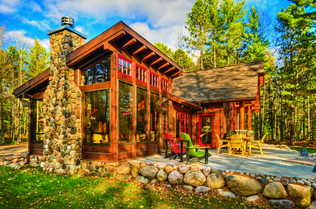 A cabin up north for Wisconsin log cabin