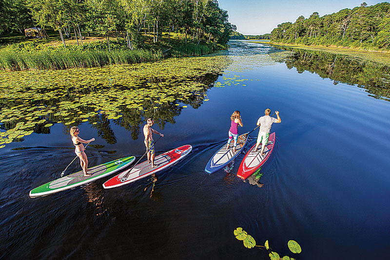 Fun on the Water: Kayaks, Canoes and SUPs