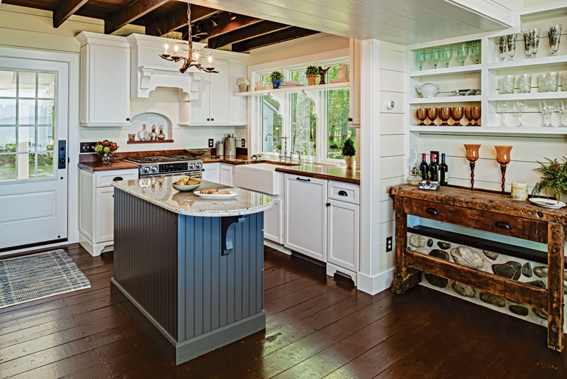 Groovy Small Cabin Kitchens Largest Home Design Picture Inspirations Pitcheantrous