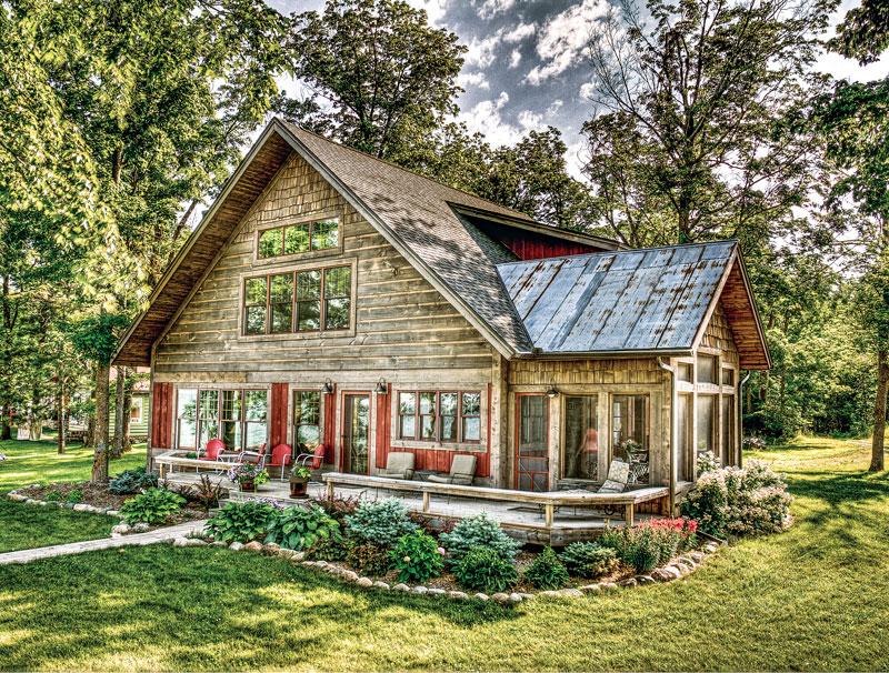 A Barnwood Beauty Cabin Life