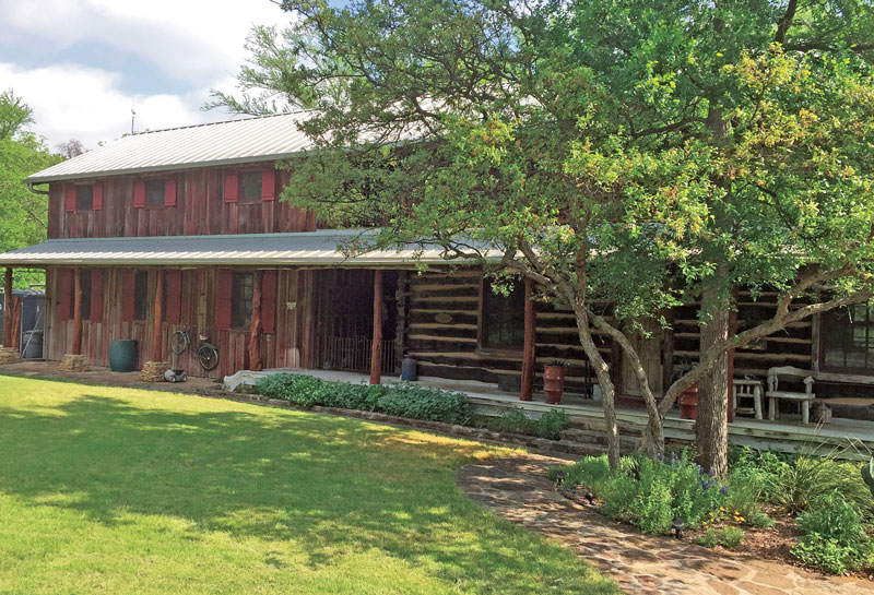 A Texas Log Cabin With History