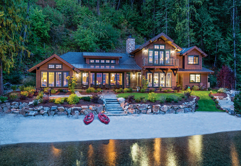 Lakeside Living: A Retirement Cabin in Idaho