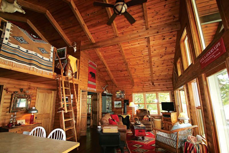 This Cabin is Off Grid, Over the Border