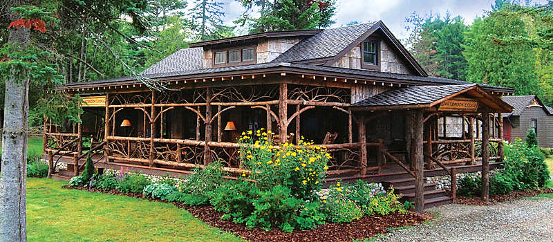 Adirondack camp inspired style for Adirondack style homes