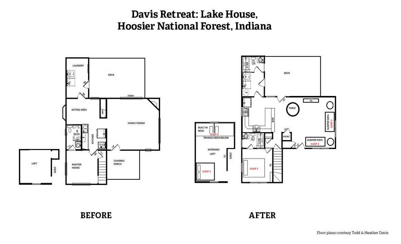 A radical transformation bonus floor plans for Davis homes floor plans